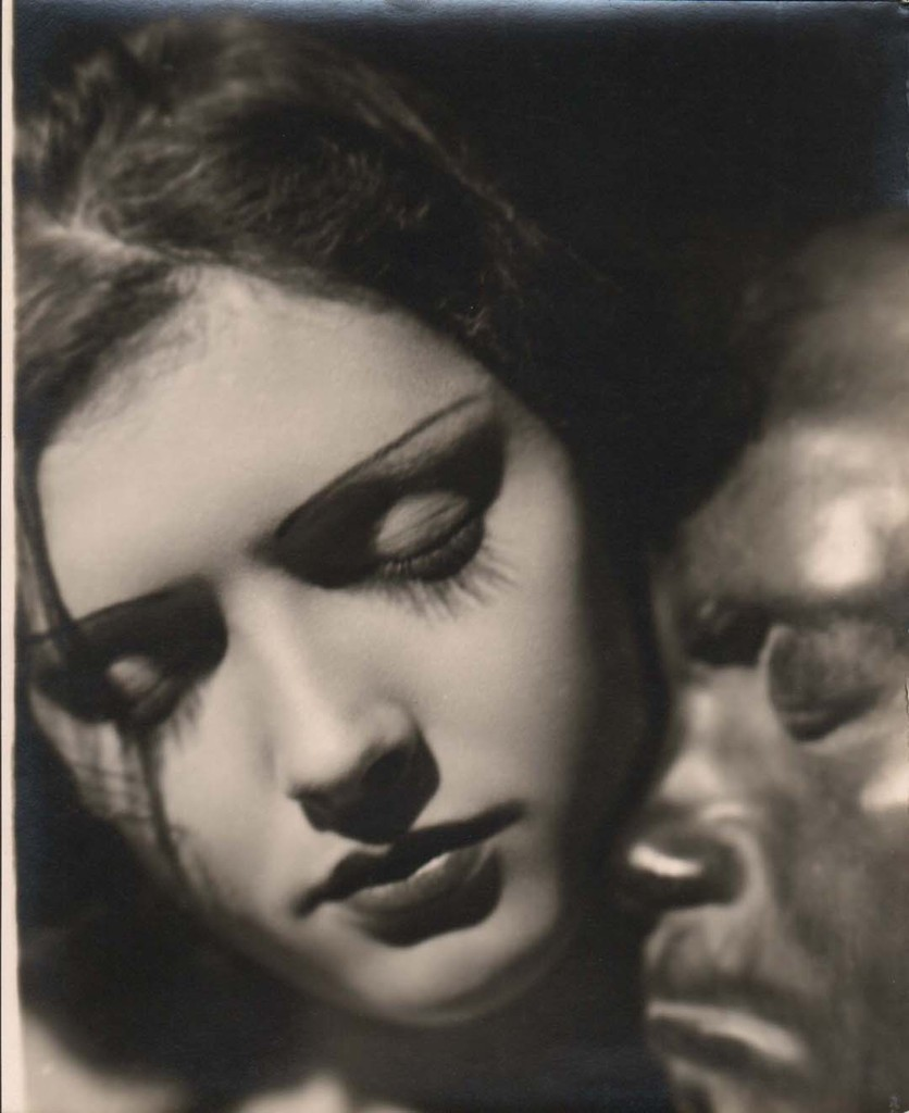 annasintervals:  Alban Woman and mask,  1930,