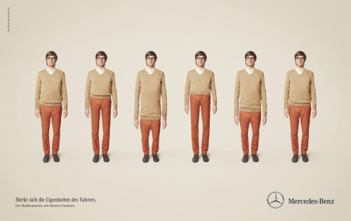 Mercedes-Benz: Multicontour Seat  Remembers the characteristics of the driver. The multicontour seat with memory function.
