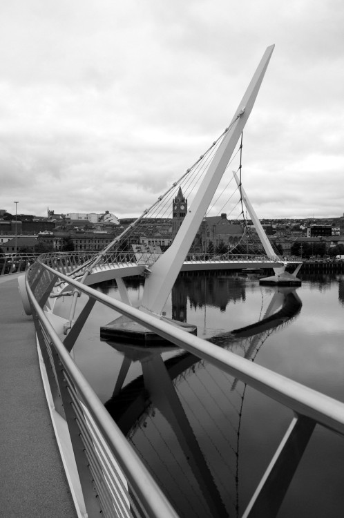 Peace Bridge, Derry. June 2012.