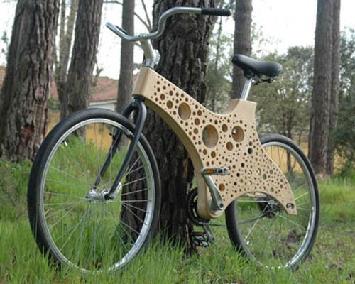 mothernaturenetwork:  11 awesome bikes made of wood