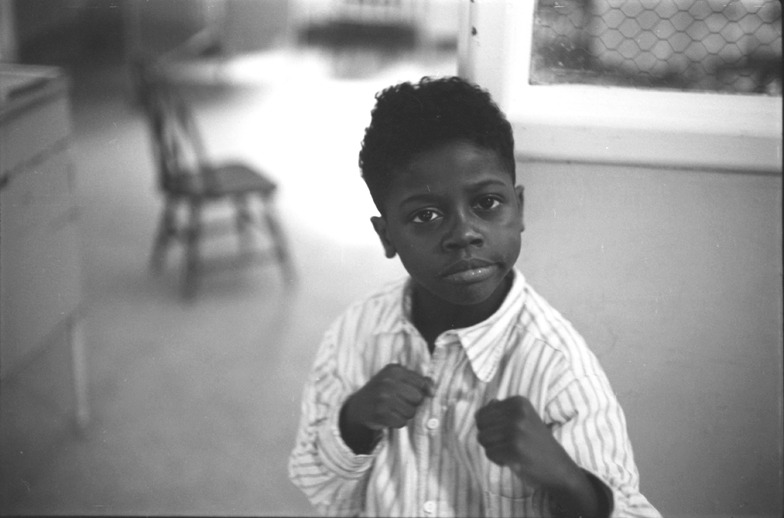 k-a-t-i-e-:  Little Joe Louis, Philadelphia, 1953 George S. Zimbel