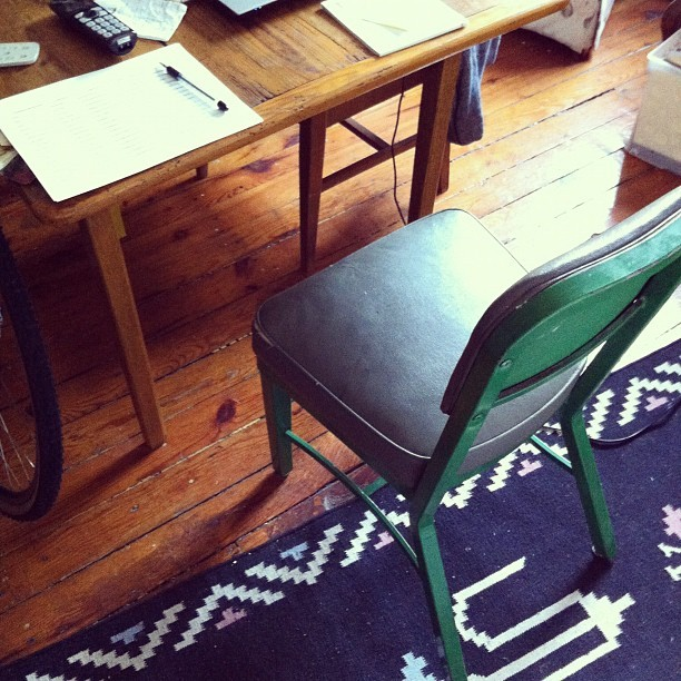 New desk #home  (Taken with Instagram)