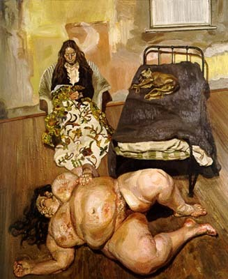So excited to be living in DFW this year for the Lucian Freud show! Saw it today for a sneak peak. This photo doesn't do justice to how awesome the painting is in person.