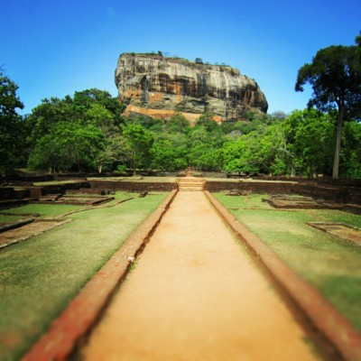 Climbed #Sigiriya #rock near #Dumbulla #hiking #sky #climb #photography #Nikon #top #risk #sky #jj  #instanature  #instagram #honeymoon  #trip  (Taken with Instagram at Sri Lanka)