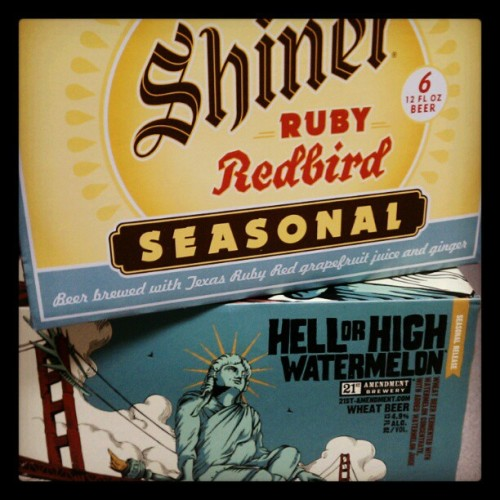 hot temps call for cold seasonal brews (taken with instagram)