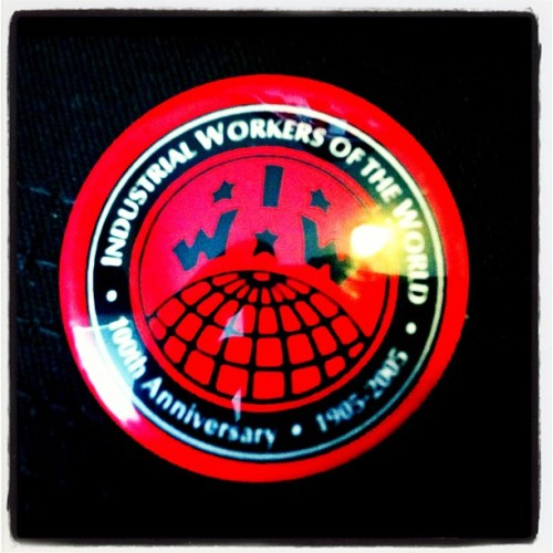 Snagged another piece of #IWW history for cheap. #wobblies #IndustrialWorkersoftheWorld #union #laborunion  #AnarchoSyndicalism #socialism #radical #ImaWobbly (Taken with Instagram)