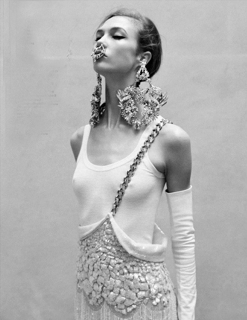 Karlie Kloss shot by Angelo Pennetta for Vogue UK May 2012