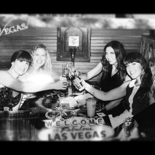 Obligatory cheesy #vegas photo. #latergram @tee_kay_dub @kthibeau  (Taken with Instagram)