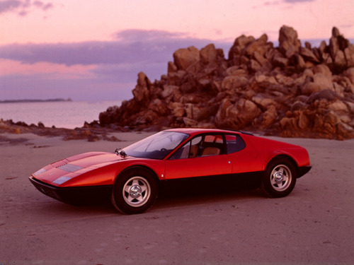 timewastingmachine:  1971 Ferrari 365 GT4 BB