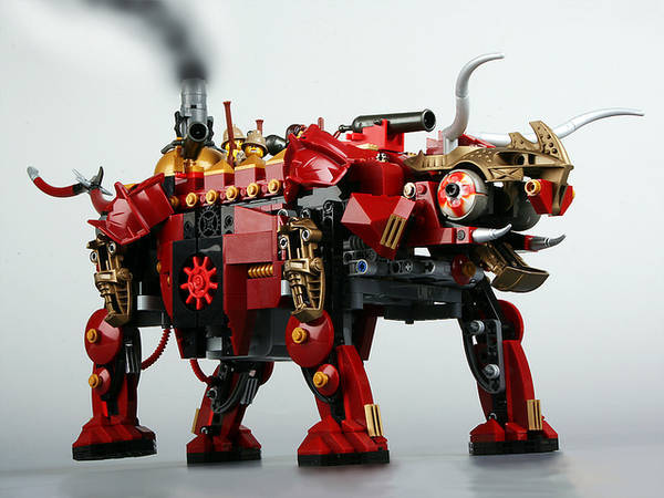 (via Steampunk Lego dino, with a backstory - Boing Boing)