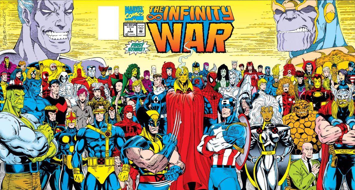 Infinity War - first issue  by Jim Starlin & Ron Lim