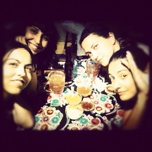 #mexicanas #locas comiendo #tacos (Taken with Instagram at La Taqueria)