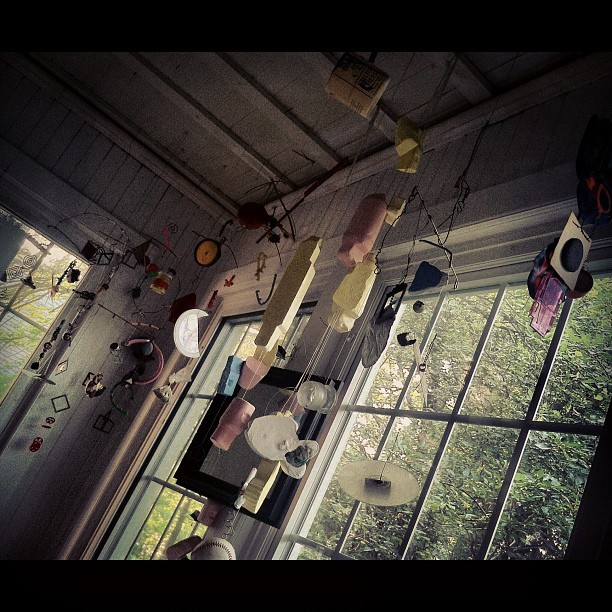 sheis-all-i-need:  Love my art studio (Taken with Instagram)