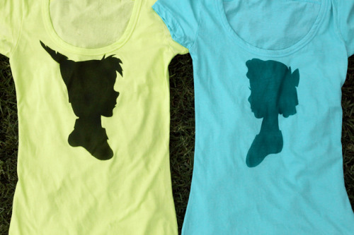 More Peter and Wendy shirts back in stock over at Whosits & Whatsits.  Celebrate the newlyweds Andrew and Hali!