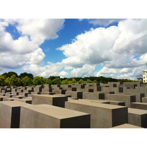 Memorial to the Murdered Jews of Europe - Berlin. #latergram #berlin #nofilter #mywork  (Taken with Instagram)