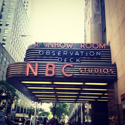 #rainbowroom #newyorkcity #nbc  (Taken with Instagram)