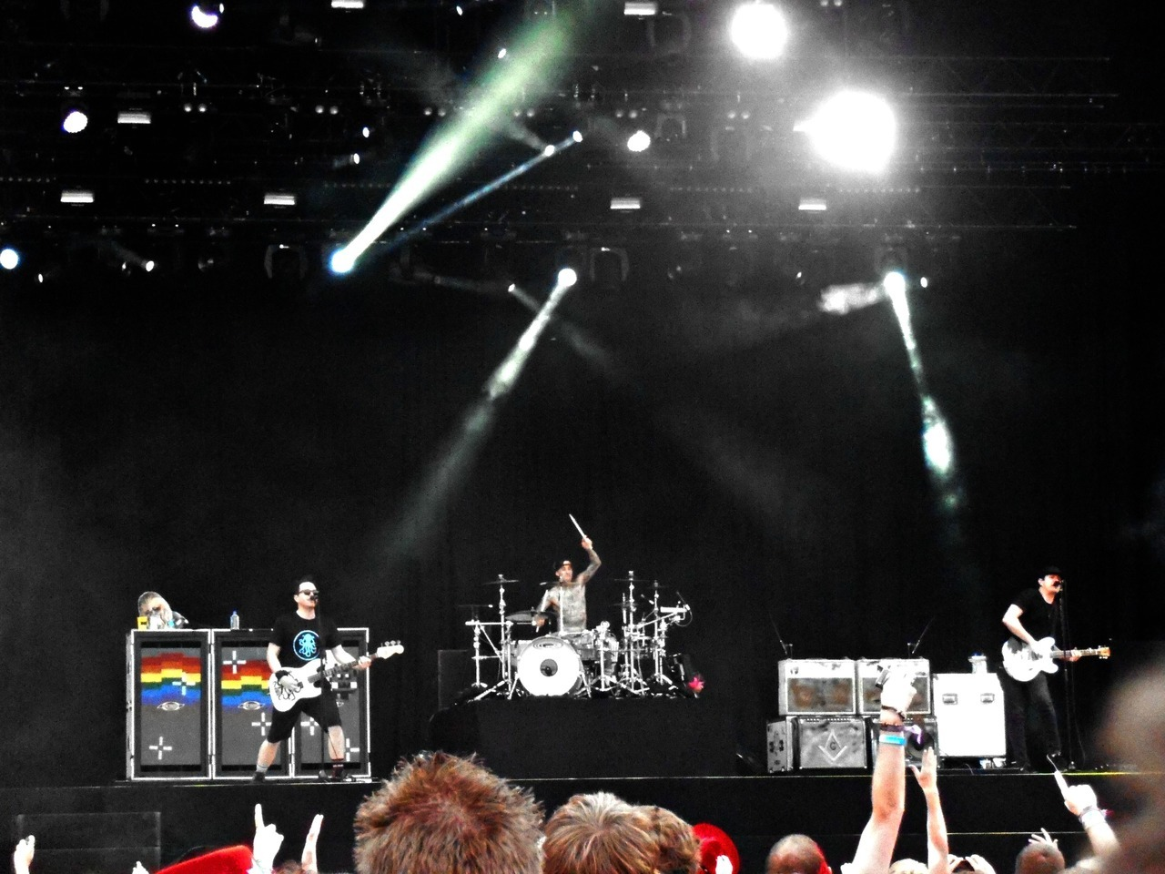 Blink-182 @ Rock Werchter 2012