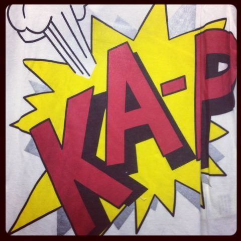 Ka-Pow (Taken with Pose)