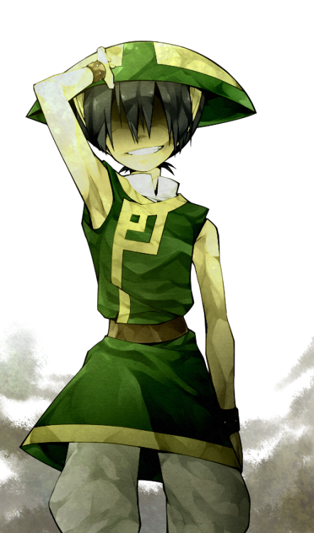 beifong—bitches:  toph by *knknknk