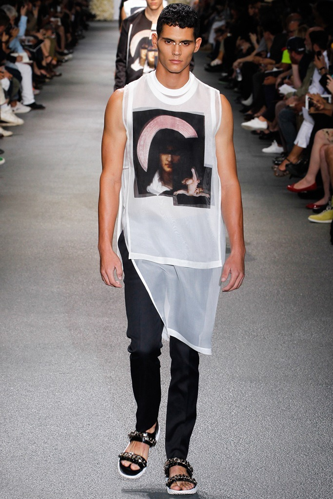 derriuspierre:  Givenchy Menswear Spring / Summer 2013 show as part of Paris Fashion Week on June 29, 2012 in Paris, France.
