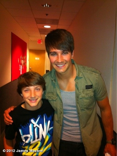 jamesmaslow:  Stopped by set today to see my boy @TheJakeShort Good to see you man. View more James Maslow on WhoSay