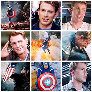 Chris Evans (as Captain America) - 130 icons @ citadel_icons.