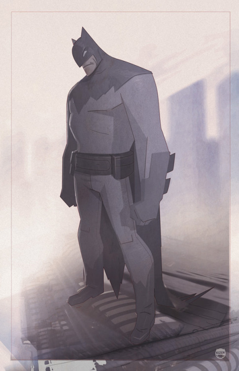 The Dark. Killing time. Batman drawing by kizer180. You will also like: Justice League busted.