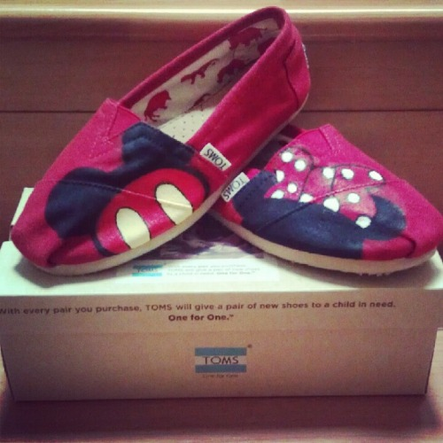 fashionoverhype:  Mickey/Minnie Mouse Toms