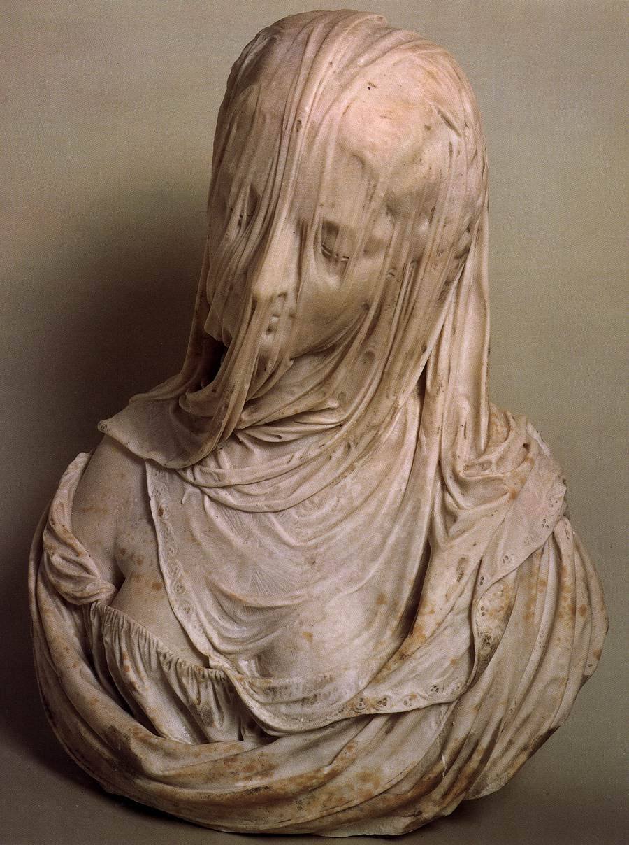 figure-studies:  Bust of a Veiled Woman (Puritas) (1717-1725)Antonio Corradini