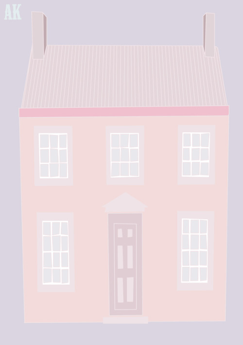 anna-karina:  I am sick of this house on behance.