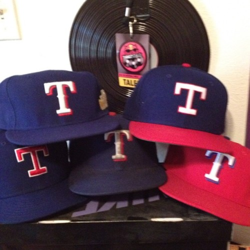 FANATIC: I think I love the Texas Rangers. #texas #rangers #mlb #hat #caps #newera #colorways  (Taken with Instagram)