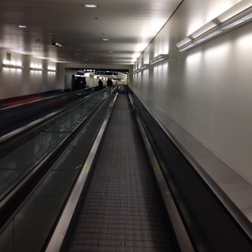 The long walk to the car (Taken with Instagram at PDX Airport )