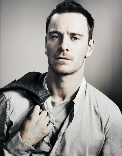 Michael Fassbender looking dapper, as usual