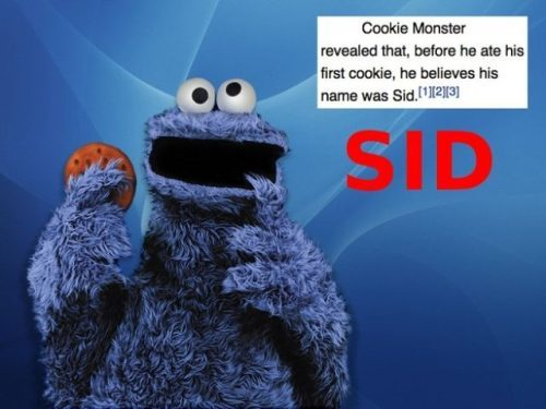 His name is Sid…interesting…