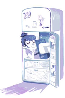qeti:  i would like to live in the fridge