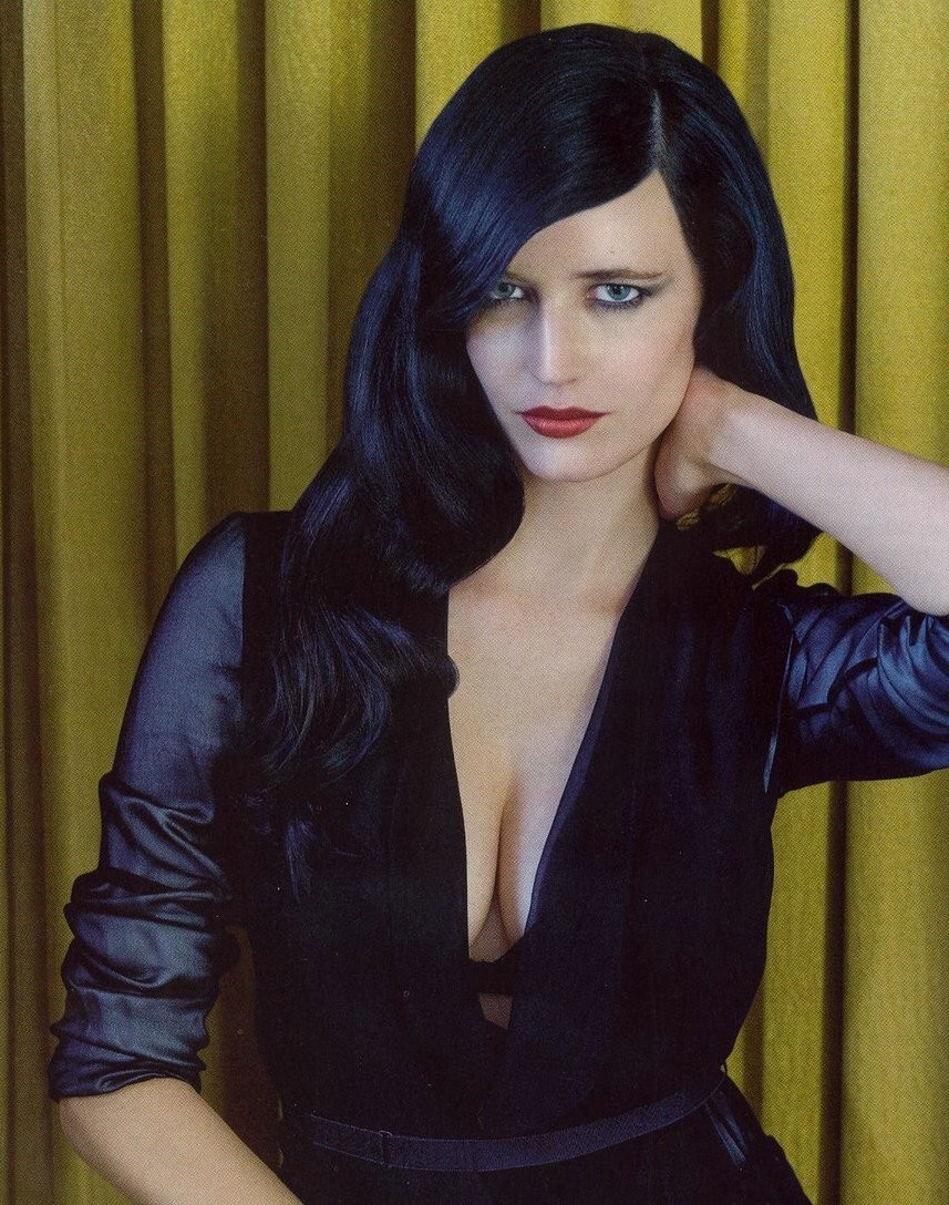 Eva Green photographed by Marc Hom for GQ UK, 03/09