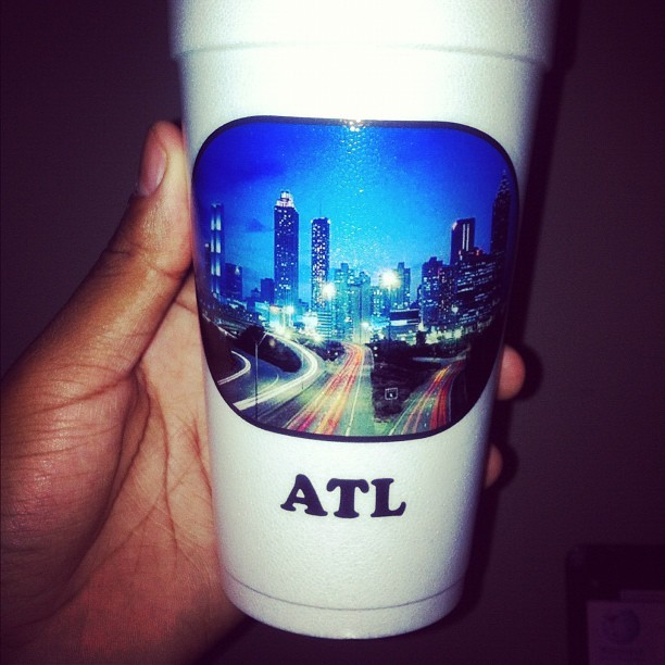 Welcome to my city #ATL  (Taken with Instagram)