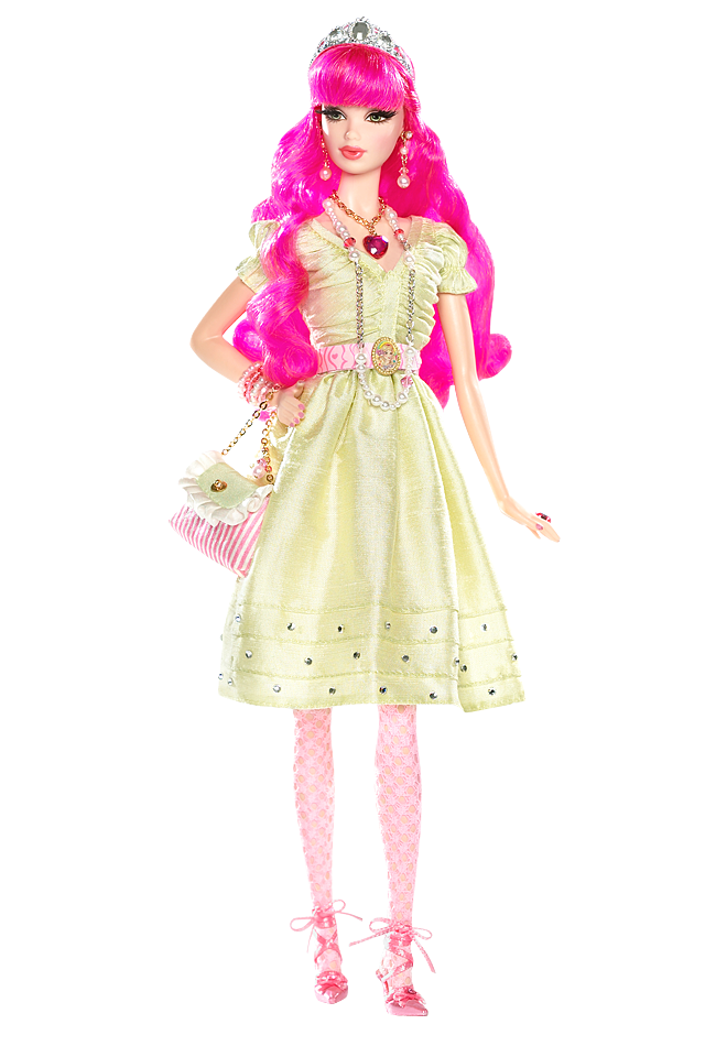crystallizedgem:  this Tarina Tarantino Barbie is so cute, full outfit from head-to-toe(no relation to Quentin Tarantino, she has her own jewerly line)