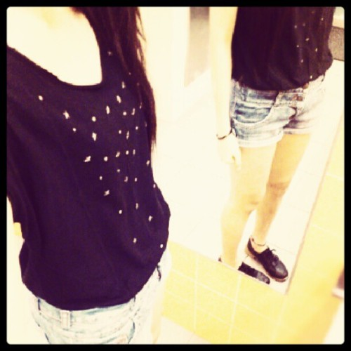 My outfit of the day! #OOTD  (Taken with Instagram)