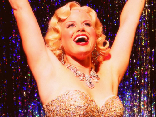 Megan Hilty in Encores! production of 'Gentlemen Prefer Blondes'.