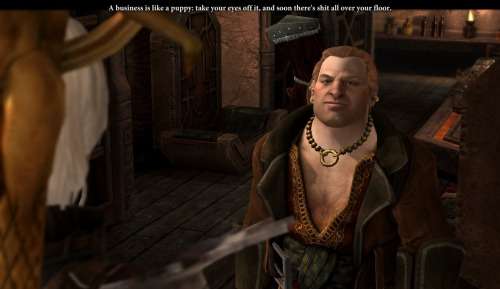 Apparently my fellow Dragon Age 2 players have never gotten this line.