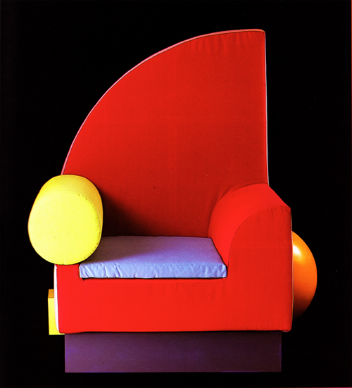 lawnmall:  Chair designed by the Memphis Group