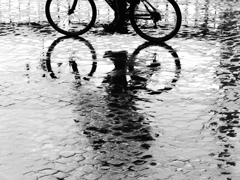black-and-white:  A Bike Ride (by Photos by Enzo D.)