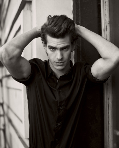 Andrew Garfield by Norman Jean Roy for Details magazine, February 2011.