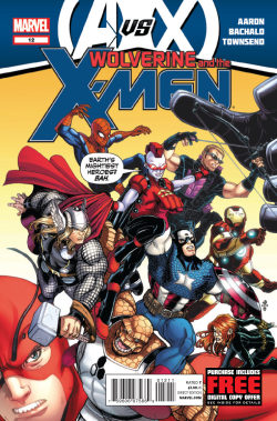 multiversitycomics:  Review: Wolverine and the X-Men #12  AvX has come to the Jean Grey School for Gifted Youngsters! Well, it has been…but now the Avengers are on the run! And guess who's hunting them down? Rachel Summers! Oh man! Link