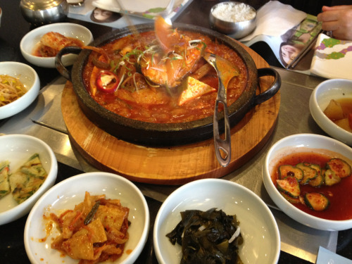 06-29-12 - Korean lunch for my grandma's 84th birthday! :)