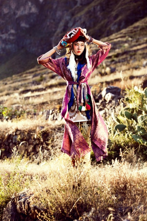 threefolds:  Han Hye Jin | Vogue Korea July 2012 | by Alexander Neumann