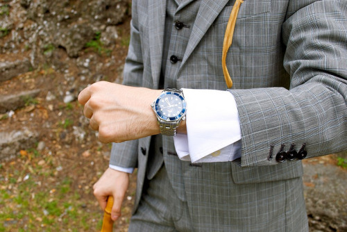 gntstyle:  (via Classic Style Outfit: Three pieces suit Glen Plaid « G n'T style)