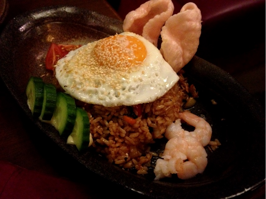 theycallmemaggie:  Indonesian-style fried rice @ Horoki
