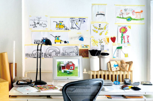 a space for creative kids (via French By Design: A converted mill in Helsinki)